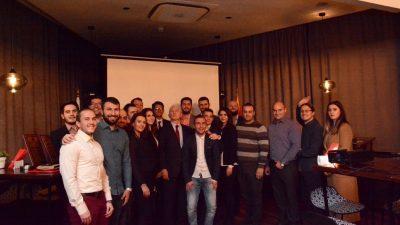 Учесниците на #wfys2017 на средба со Амбасадорот на Руската Федерација во Р. Македонија