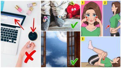 Навики кои ќе ви помогнат да се ослободите од проблемите со сонот