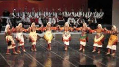"""Новогодишен концерт на """"Танец"""" во МОБ"""