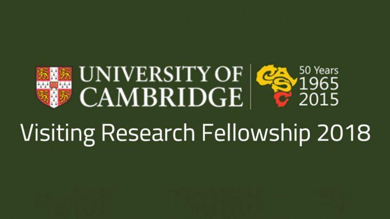 Истражувачки стипендии на Универзитетот во Кембриџ