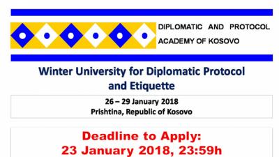 Зимски универзитет за дипломатски протокол и етикета