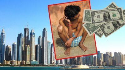 Просјаци во Дубаи заработуваат 60.000 евра
