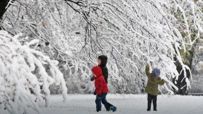Следува промена на времето од утре снег