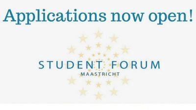 Повик за апликации за студентски форум 2018