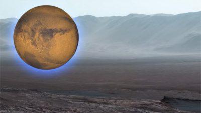 За првпат снимен Марс пред зима