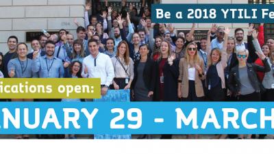 Повик за апликации, Стипендии за млади трансатлантски иновативни лидери 2018