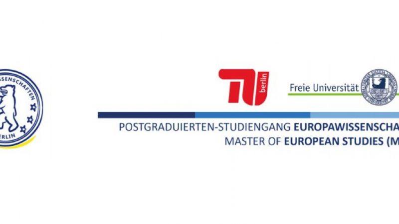 Повик за аплицирање за магистер за европски студии …