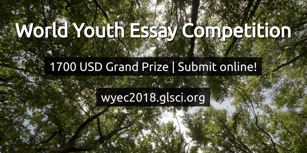 World Youth Essay Competition 2018