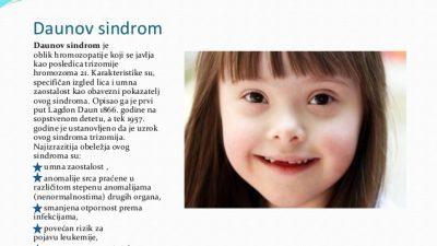 Светски ден на Дауновиот синдром – Болест поврзана со возраста на мајката
