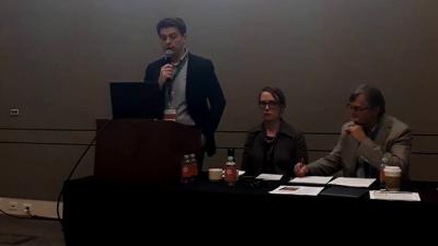 Професорот Докмановиќ одржа предавање на Универзитетот на Тексас во врска со депортираните Евреи од Македонија