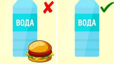 Ситуации во кои не е паметно да пиете вода