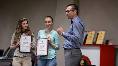 Наградени најдобрите матуранти од интелектуалната игра #DerzhaWIN