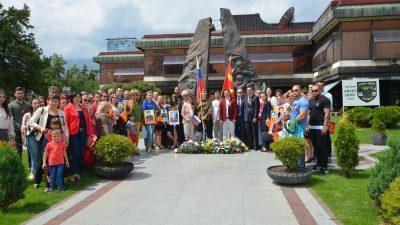 """Одржана манифестацијата """"Бесмртен полк"""" во Битола"""