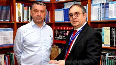 Студиски престој на УТМС на проф. д-р Марио Думанчиќ преку Еразмус+ програмата
