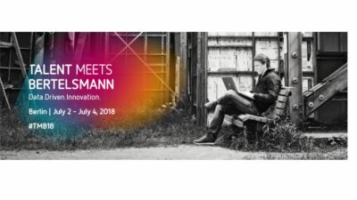 "Програма ""Talent Meets Bertelsmann"" 2018 во Германија"