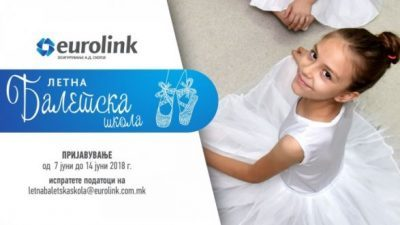 Заедно во уште една балетска приказна – Еуролинк бесплатна балетска школа