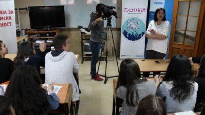 Средношколски камп за медиумска писменост на УГД