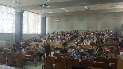 Стотина основци се натпреваруваа во интердисциплинарно изучување на наука, технологија, инженерство и математика
