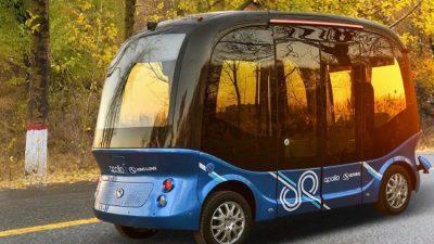 Самовозечки автобуси на улиците на Јапонија од идната година