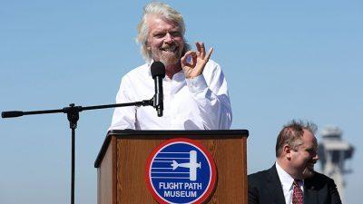 Ричард Бренсон: Се надевам дека ќе полетам во вселената до крајот на годината