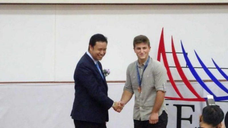 Бронзен медал за Македонец на Светската олимпијада за геонауки