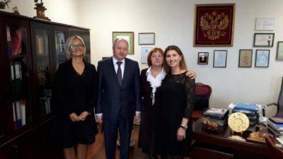 УГД: Македонска делегација на Правниот факултет при Воронешкиот државен универзитет