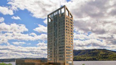 Норвешка ја заврши конструкцијата на највисокиот дрвен облакодер на светот