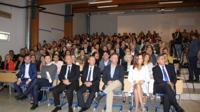 УЈИЕ: Се одржа традиционалната средба со студентите од прва година