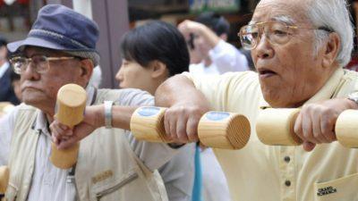 Во Јапонија живеат речиси 70.000 стогодишници