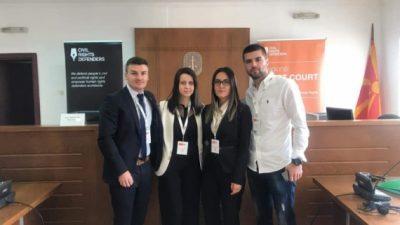 УГД: Студентите на Правен факултет на регионален натпревар за симулирано судење