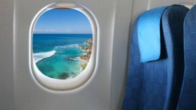Зошто прозорците во авионите се заоблени?