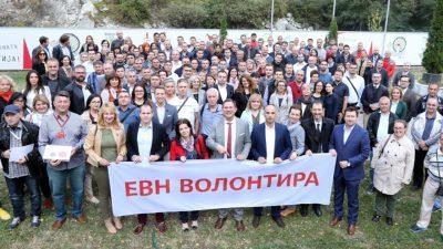 """""""ЕВН Волонтира"""" со нови 66 проекти"""