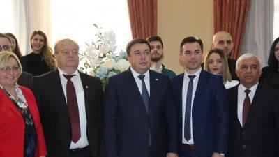 """Делегација од Славјански на јубилејна прослава по повод 100-годишнината од Тамбовскиот државен универзитет """"Г. Р. Державин"""""""