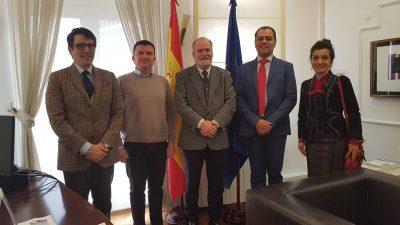 Средба со Амбасадорот на Кралството Шпанија во РМ и иницијативи за идна соработка
