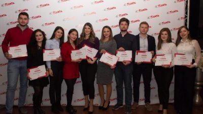 Доделени стипендиите од ОКТА за десетте студенти на УКИМ