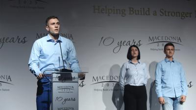 Со донаторска гала-вечера одбележани десет години од постоењето на Македонија2025