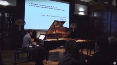 (Видео) Професор и студент од Музичката академија настапија во Чешка