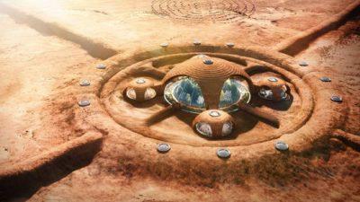 Вака ќе изгледаат нашите марсовски домови во иднина