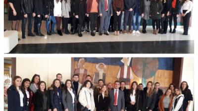 Студенти од Факултетот за бизнис и економија во посета на Народна банка на РМ