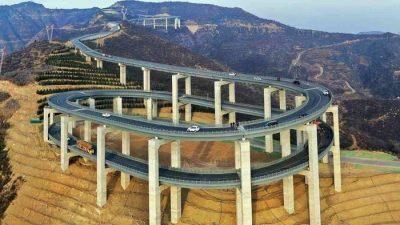 Новото кинеско чудо го шокираше светот: Вијадукт на 3 ката, долг 30 километри