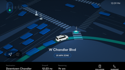 Првиот роботски такси сервис е официјално отворен