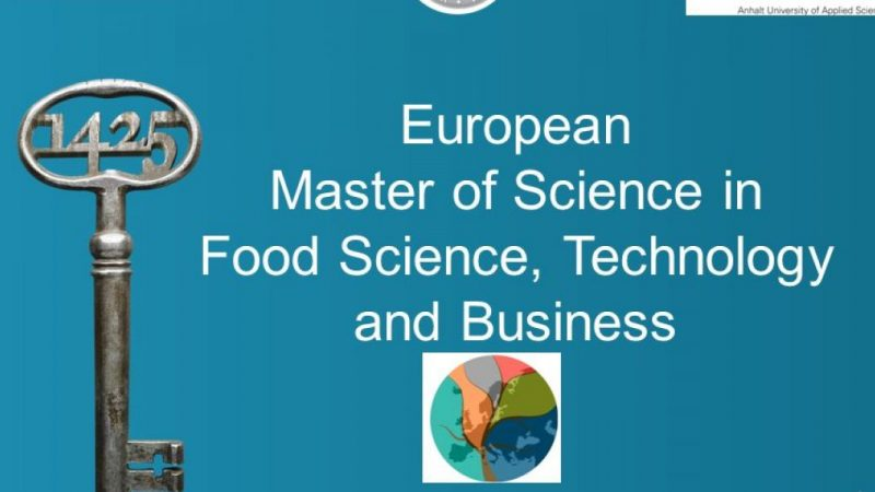 European master of science in food science, technolology and business