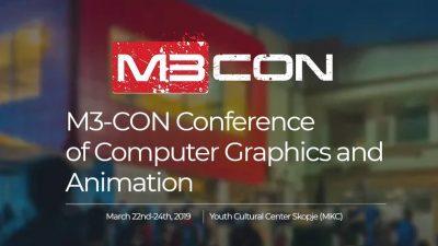 M3 CON Конференција за компјутерска графика и анимација