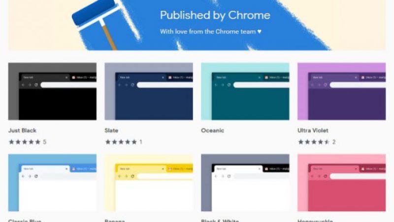 Тимот на Гугл Хром објави 14 нови официјални теми за …