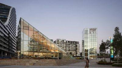 Библиотека во Сиднеј закопана во земја