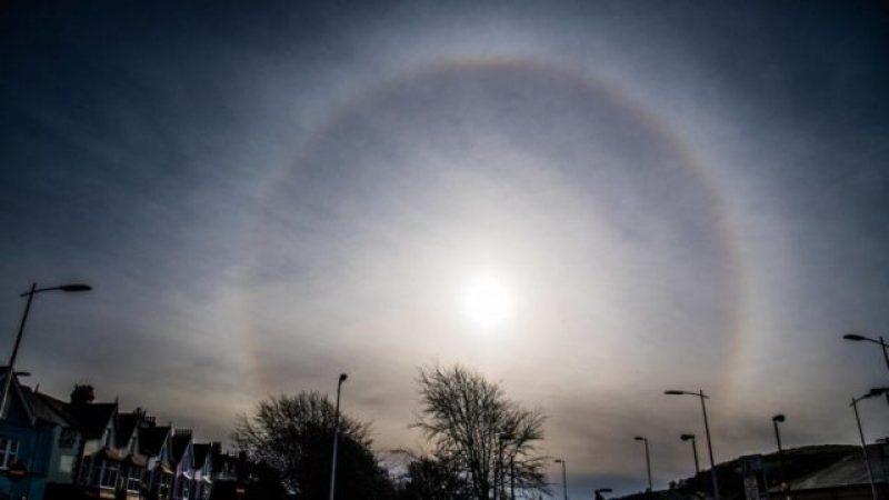 Неверојатен феномен на руското небо: На северот се појавиле три сонца
