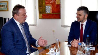 Чешкиот Амбасадор во посета на УКЛО