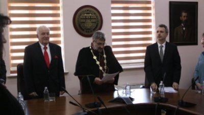 Реномиран професор од Бугарија стана почесен доктор на науки на УГД