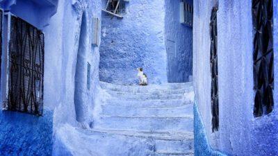 Ова е синиот град во Мароко