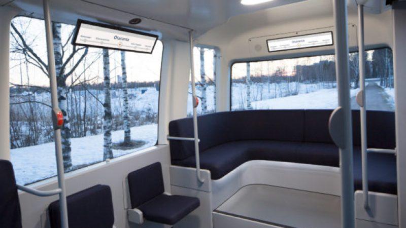 Финска доби самовозечки автобус